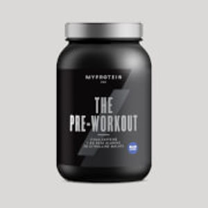 The Pre-Workout™ nakopávač - 30servings - Modrá Malina