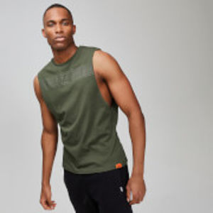 MP Men's Rest Day Drop Armhole Tank Top - Army Green - XS