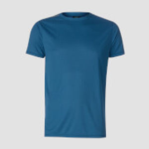 MP Men's Training Grid T-Shirt - Pilot Blue - L