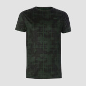 Training Grid T-Shirt - Hunter Green - XXL
