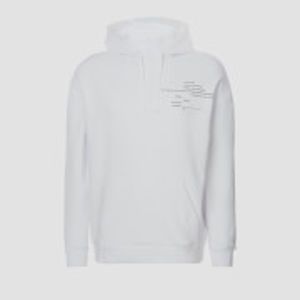 MP Men's Rest Day Slogan Hoodie - White - M