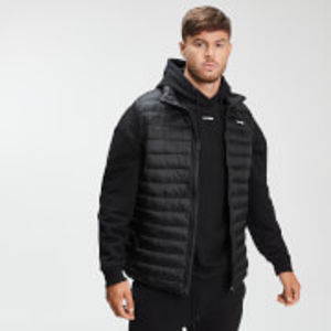 Men's Lightweight Padded Gilet - Black - S