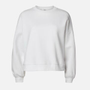 Oversized Sweatshirt - White - L