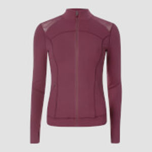 Power Mesh Jacket - Oxblood - S