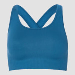 Shape Seamless Sports Bra - Pilot Blue - S