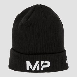MP New Era Cuff Knitted Beanie - Black/White