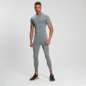 MP Men's Base Layer ¾  Leggings - Storm - XXL