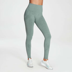 MP Women's Raw Training Seamless Leggings - Washed Green - XXS