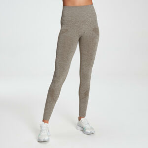 MP Women's Raw Training Seamless Leggings - Taupe - M
