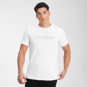 MP Men's Outline Graphic Short Sleeve T-Shirt - White - XS