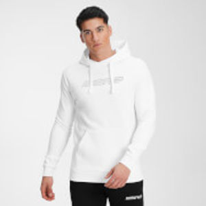 MP Men's Outline Graphic Hoodie - White - XXXL