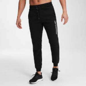 MP Men's Outline Graphic Joggers - Black - XXL