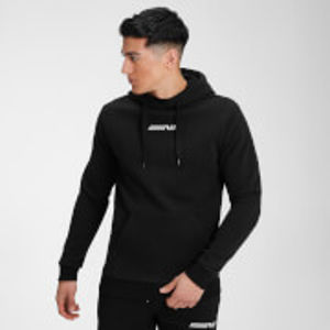 MP Men's Contrast Graphic Hoodie - Black - L