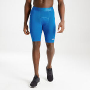 MP Men's Essentials Training Base Layer Shorts - True Blue - XXXL