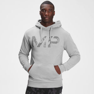 MP Men's Adapt Tonal Camo Hoodie- Storm Grey Marl - XS