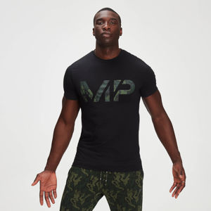 MP Men's Adapt drirelease® Camo Print T-Shirt- Black - XXL