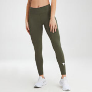 MP Women's Essentials Training Leggings - Dark Olive - XXS