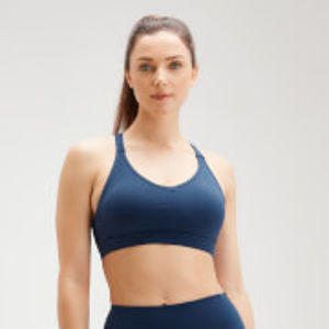 MP Women's Power Mesh Bra - Dark Blue - XXS
