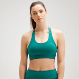 MP Women's Power Cross Back Sports Bra - Energy Green - M