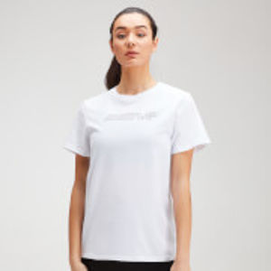 MP Women's Outline Graphic T-Shirt - White - XL