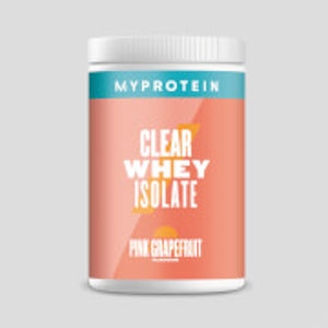 Clear Whey Isolate - 20servings - Pink Grapefruit